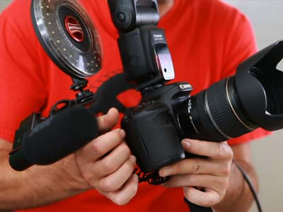 Shoot Photo&Video with DSLR by Eos